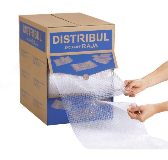 Burbulinė plėvelė dėžėje