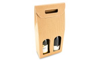Dėžutė buteliams su langeliu