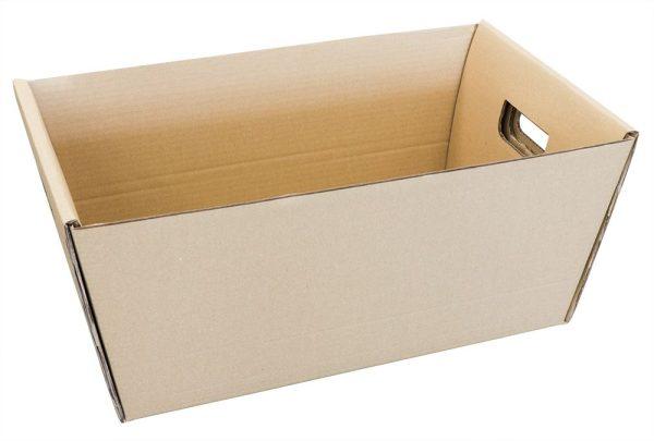 Dėžė su iškirstomis rankenomis