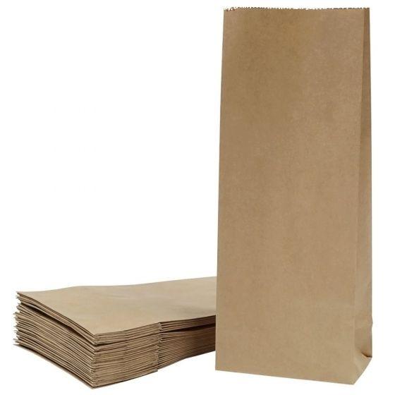 Popieriniai maišeliai su blokiniu dugnu