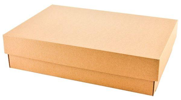 Micro gofro kartono dviejų dalių dėžutės